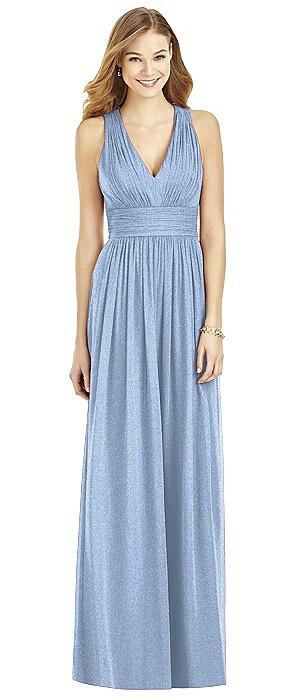 After Six Shimmer Bridesmaid Dress 6752LS