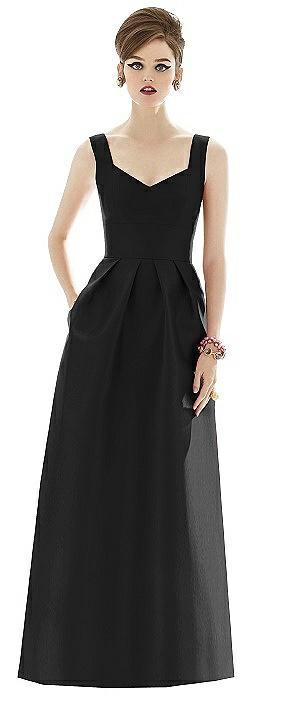 Alfred Sung Bridesmaid Dress D659