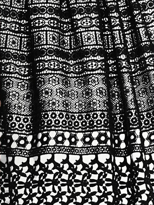 Vintage Lace Fabric by the 1/2 Yard