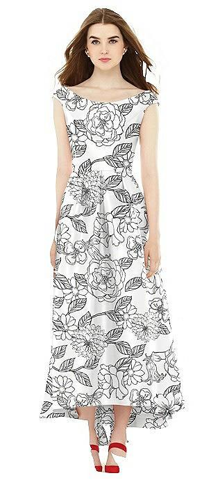 Alfred Sung Bridesmaid Dress D722FP