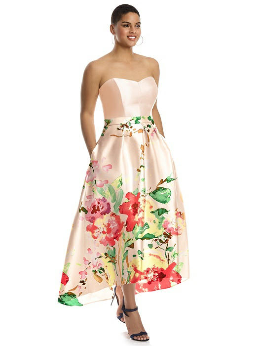 Alfred Sung Bridesmaid Dress Style