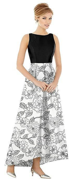 Alfred Sung Bridesmaid Dress D706CP