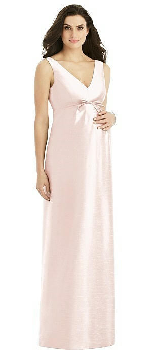 Alfred Sung Maternity Bridesmaid Dress M439