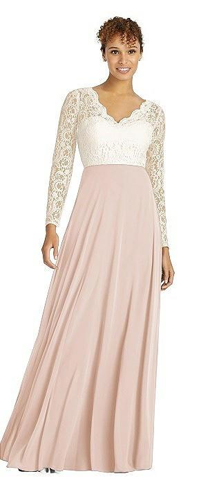 Dessy Bridesmaid Dress 3034