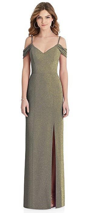 After Six Shimmer Bridesmaid Dress 1517LS