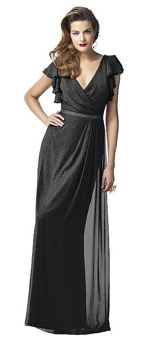 Dessy Shimmer Bridesmaid Dress 2874LS