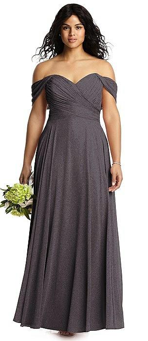 Dessy Shimmer Bridesmaid Dress 2970LS