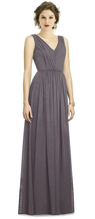 Dessy Shimmer Bridesmaid Dress 3005LS