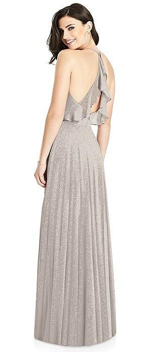 Dessy Shimmer Bridesmaid Dress 3021LS