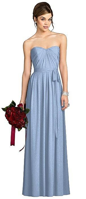 After Six Shimmer Bridesmaid Dress 6678LS