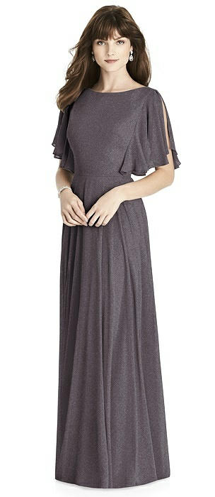 After Six Shimmer Bridesmaid Dress 6778LS