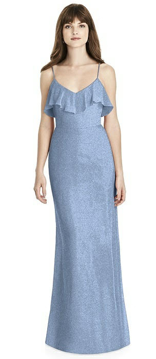 After Six Shimmer Bridesmaid Dress 6780LS