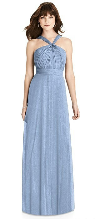 After Six Shimmer Bridesmaid Dress 6783LS