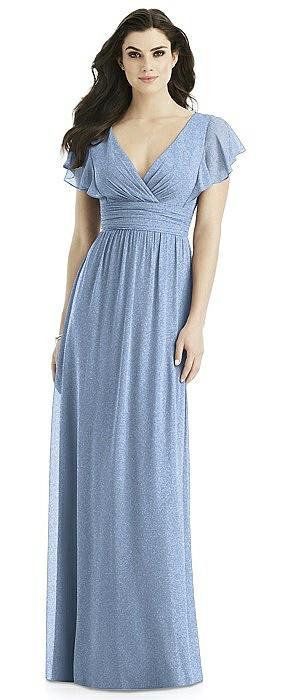 Studio Design Shimmer Bridesmaid Dress 4526LS