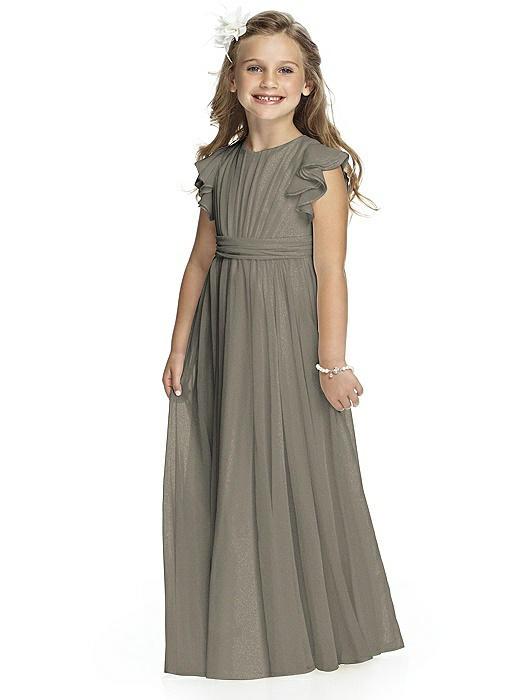 Flower Girl Shimmer Dress FL4038LS