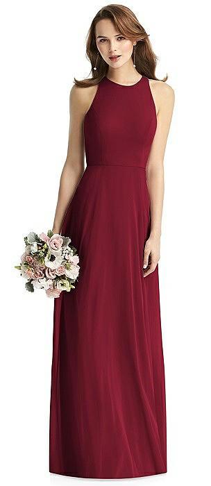 Emily Long Shimmer Halter Dress