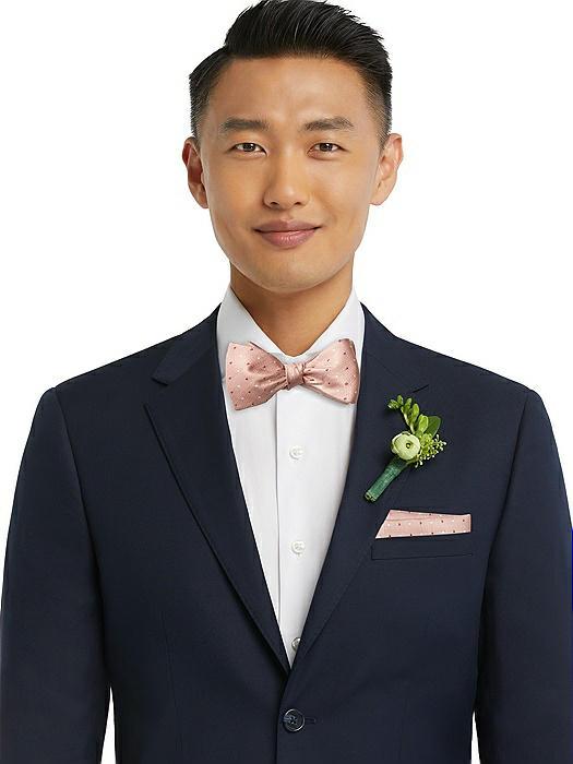 Modern Polka Dot Self-Tie Bow-Tie