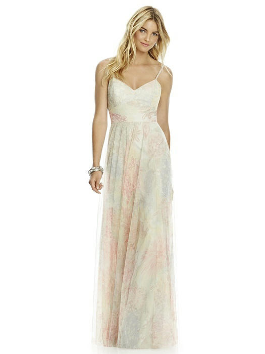 After Six Bridesmaid Dress 6766PRNT On Sale