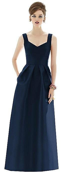 Alfred Sung Bridesmaid Dress D659 - Closeout