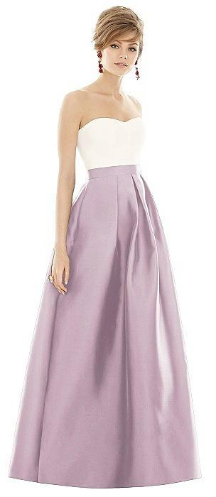Alfred Sung Bridesmaid Dress D755