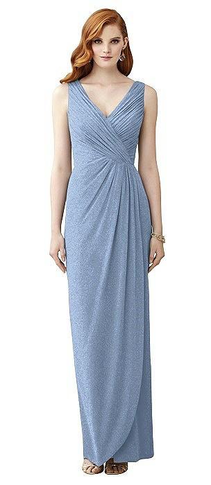 Dessy Shimmer Bridesmaid Dress 2958LS