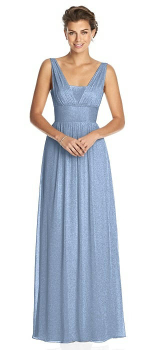 Dessy Shimmer Bridesmaid Dress 3026LS