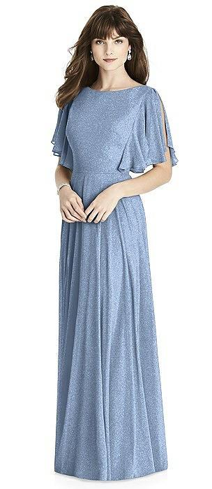 After Six Shimmer Bridesmaid Dress 6778LS