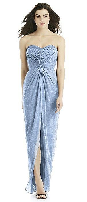 Studio Design Shimmer Bridesmaid Dress 4523LS