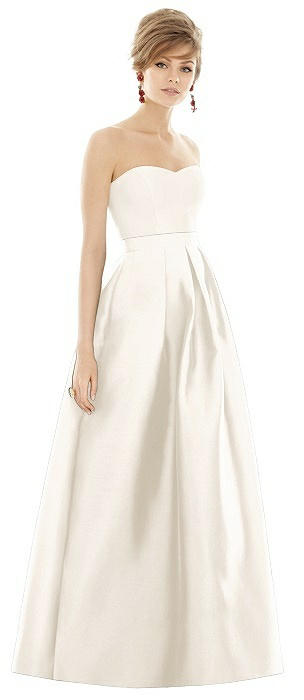 Alfred Sung Bridesmaid Dress D755