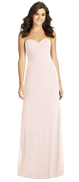 Strapless Sweetheart Neck Mermaid Gown