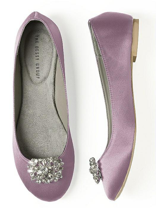 Rectangular Jeweled Shoe Clip