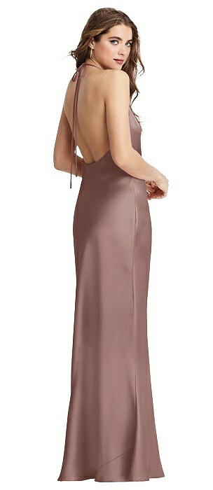 Cowl Neck Convertible Maxi Slip Dress - Reese