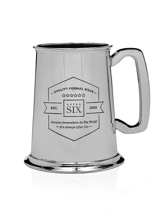 After Six Pewter Beer Stein