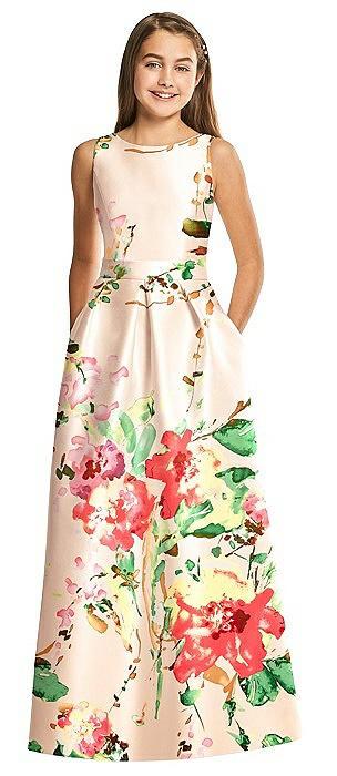 Alfred Sung Junior Bridesmaid Dress JR544FLOR