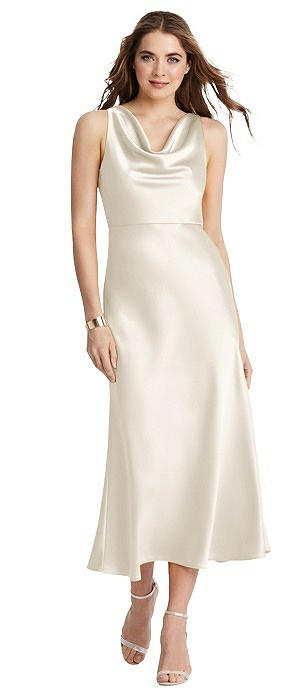 Cowl Neck Midi Tank Dress - Esme