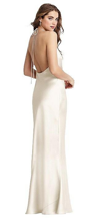 Cowl Neck Convertible Maxi Slip Dress - Reese