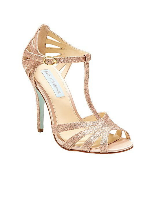 Betsey Blue Tee Strappy Heel