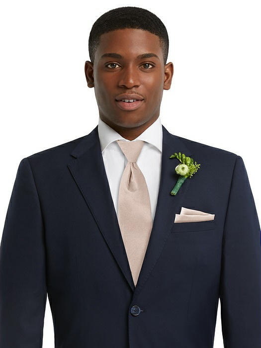 Yarn-Dyed Modern Tie by After Six