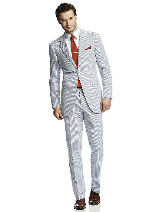 Seersucker Suit Jacket By After Six The Dessy Group