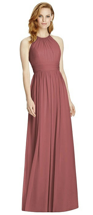 Studio Design 4511 Halter Long Bridesmaid Dress
