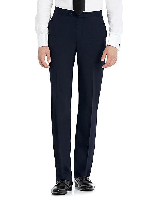 Hardwick Navy Modern Fit Tuxedo Pant