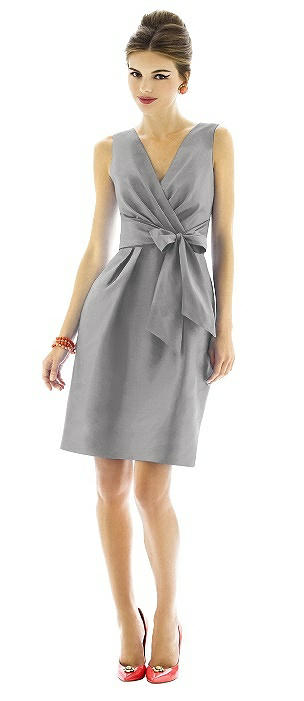 Alfred Sung Bridesmaid Dress D595 On Sale