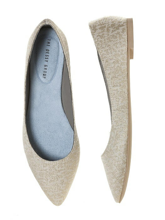 Park Avenue Brocade Ballet Wedding Flats