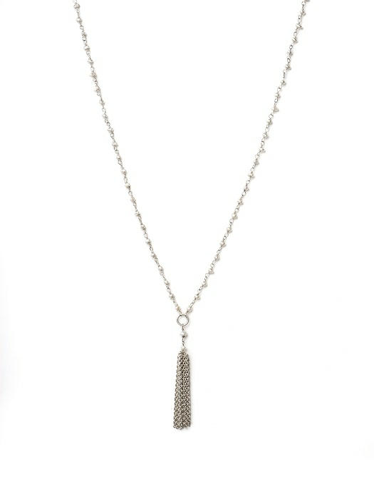 Pearl Tassle Necklace