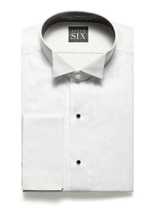 Wing Collar Tuxedo Shirt - The Graham by After Six