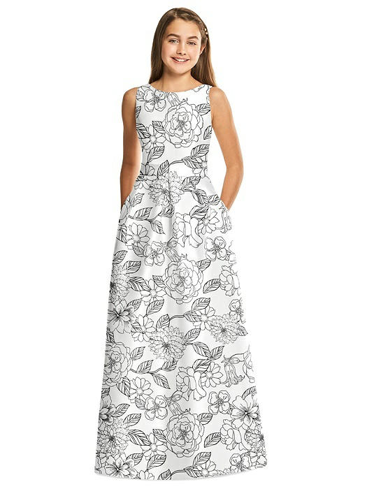 Alfred Sung Junior Bridesmaid Style JR544FP