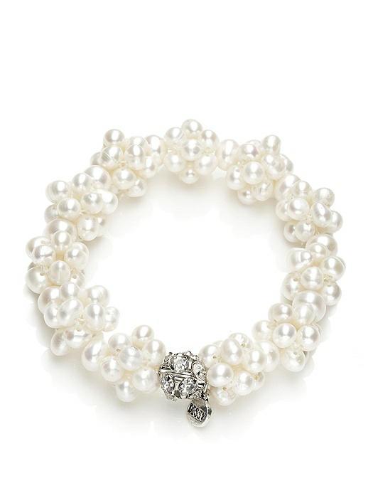 Freshwater Pearl Cluster Bracelet