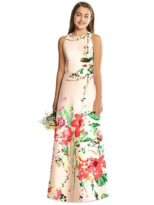 Alfred Sung Junior Bridesmaid Dress JR545FLOR