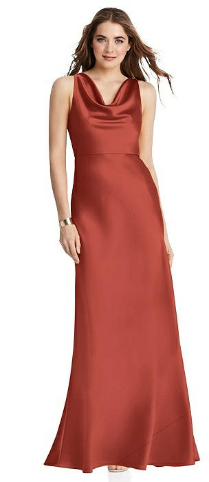Cowl-Neck Maxi Tank Dress - Nova