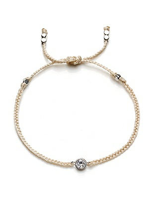 CZ Solitaire Friendship Bracelet